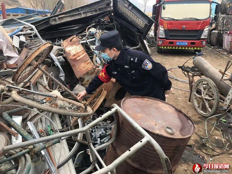 绥德铁警开展安全检查,护航铁路平稳运行