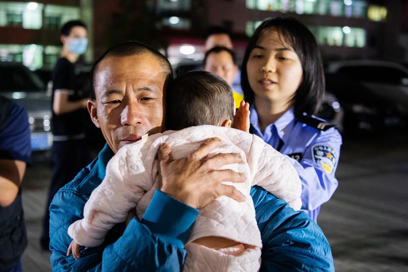 """广东""""团圆行动""""找回228名被拐、失踪儿童"""