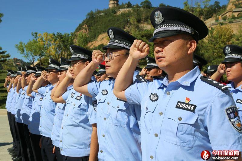 延安铁路公安处开展学习人民警察队伍授旗重要训词精神活动