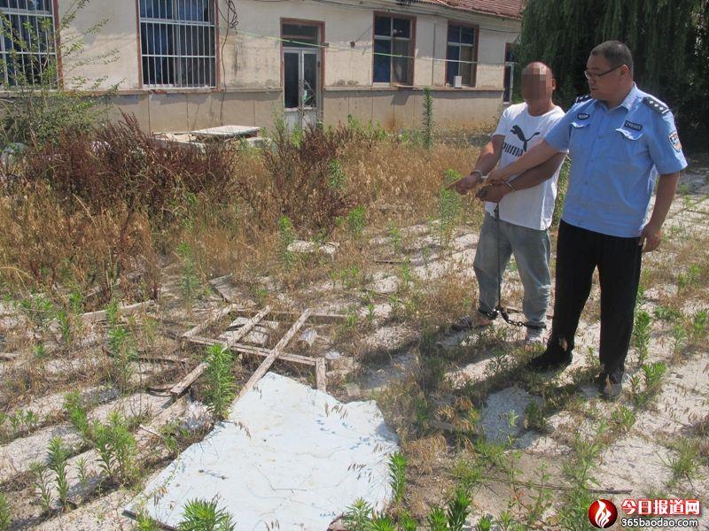 招远市公安局多警联动破获系列盗窃石材厂物品案