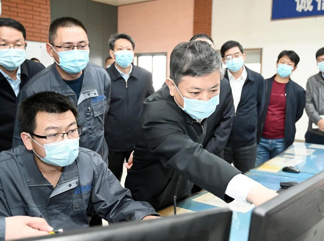 生态环境部部长黄润秋赴天津调研
