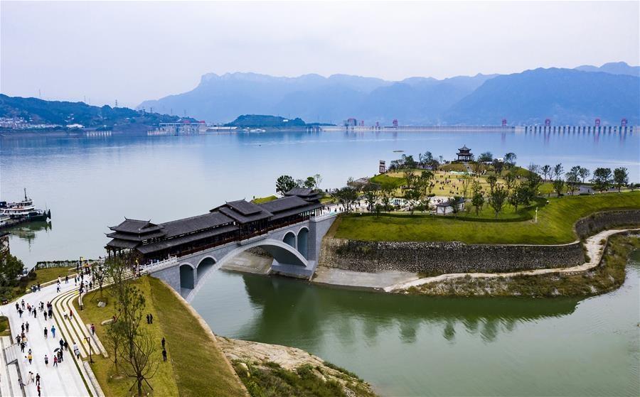 湖北秭归:三峡库岸建成休闲公园