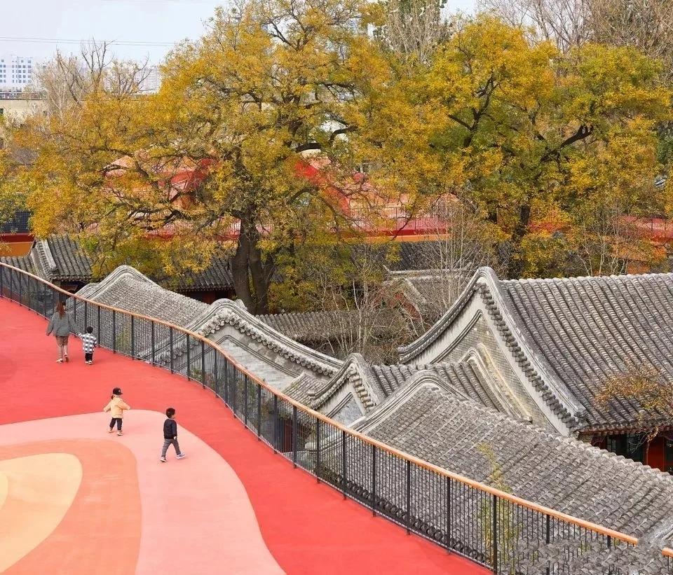 这座环保四合院,拿奖无数的硬核幼儿园,原来是马岩松设计的!
