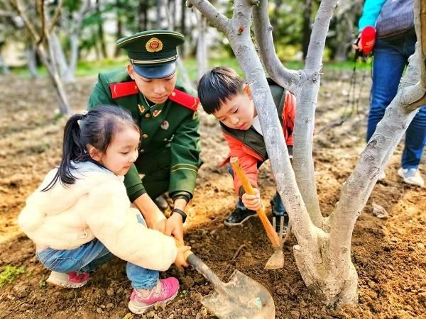 植树节将近 共青森林公园开放六大树种供线上认养