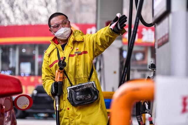 油价调整信息:今天3月22日,全国加油站降价后92、95号汽油价格