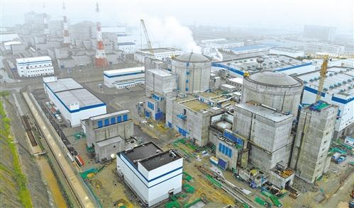 田湾核电5号机组首次并网成功
