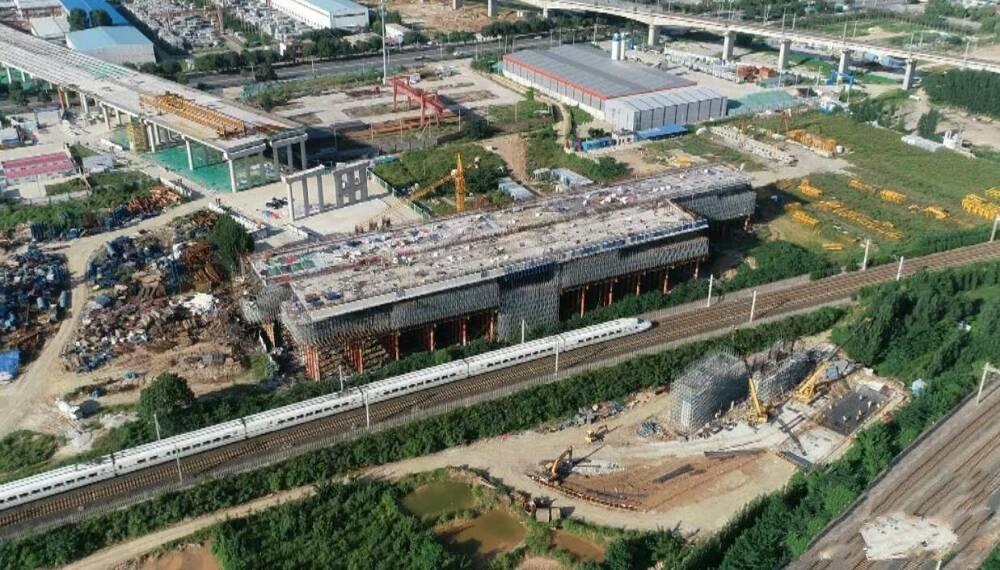 创三项国家记录!济南大东环项目转体桥成功转体 11月具备通车条件