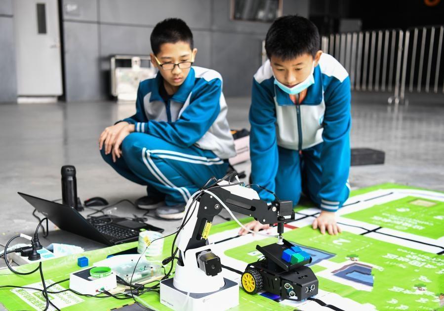 2020世界机器人大赛总决赛在佛山举行