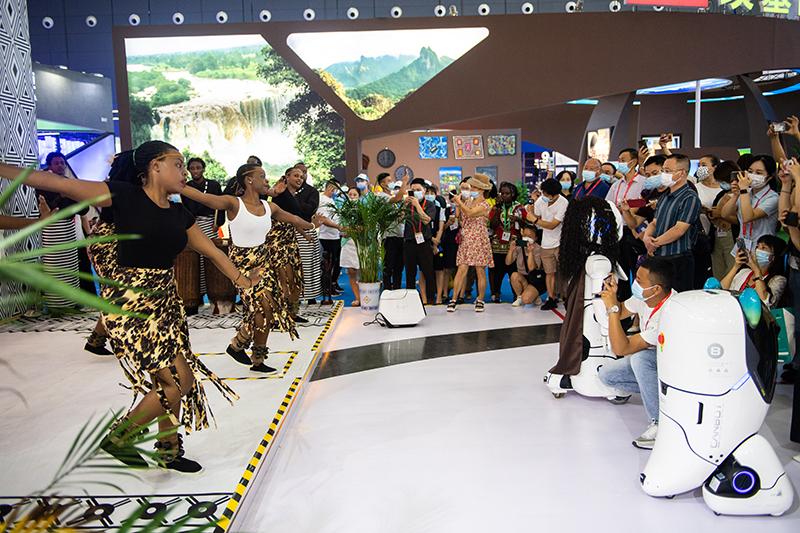 第二届中国-非洲经贸博览会迎来公众开放日
