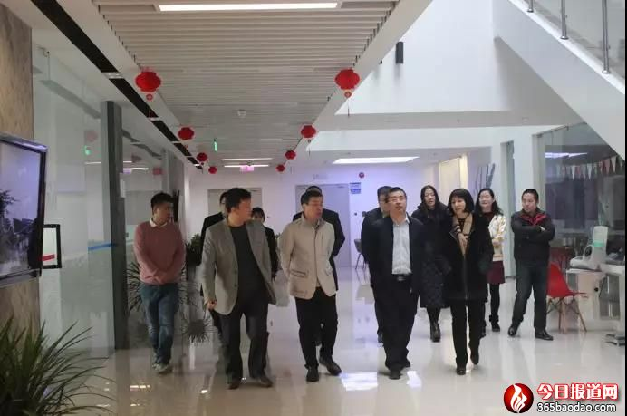 中关村发展集团领导赴信息谷开展节日慰问暨安全工作检查