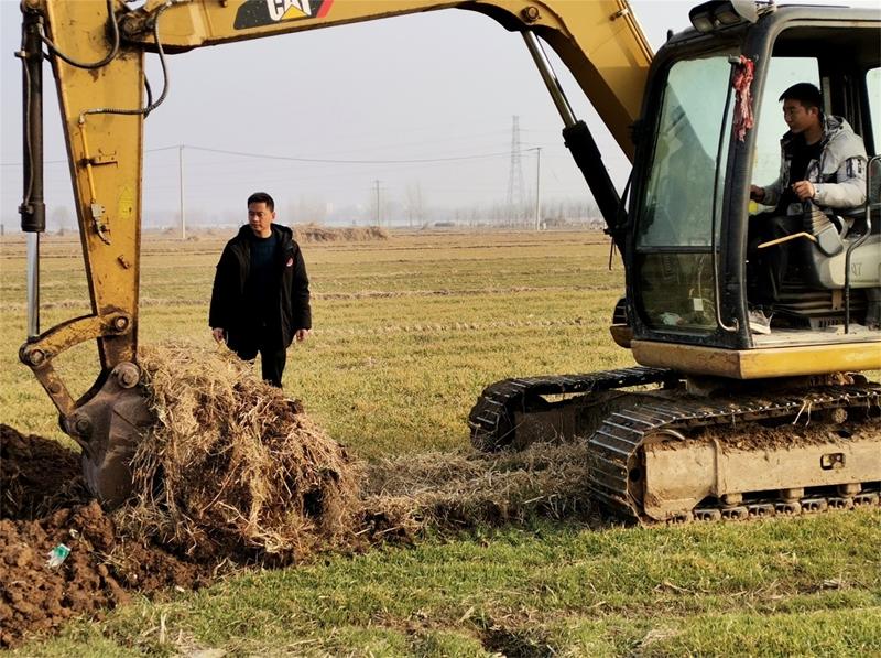 冬季兴修农田水利   郯城:第一书记解决了40年来排涝难