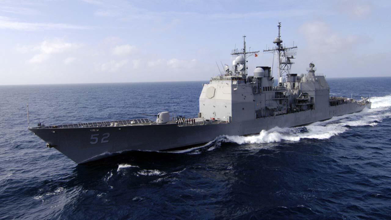接连挑衅?闯我西沙领海被警告驱离后,又有美军巡洋舰驶近南沙岛礁