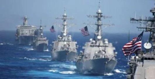 """美海军发布新战略指南,首次承认""""中美海军军力旗鼓相当"""""""