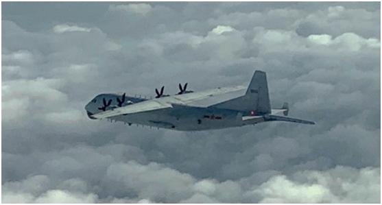 快讯!台防务部门:解放军运-8反潜机下午进入台西南空域