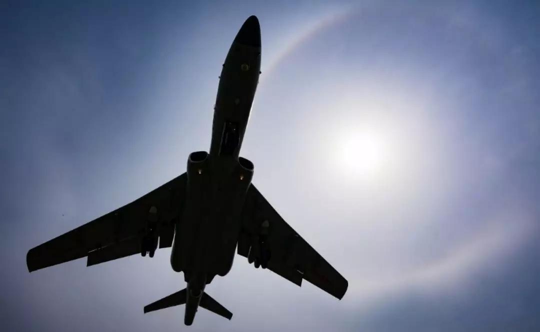 中俄空军首次联合空中战略巡航