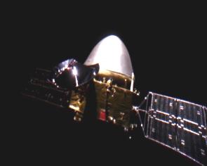 """历史性瞬间!中国首颗火星探测器""""天问一号""""精准实施近火捕获制动"""