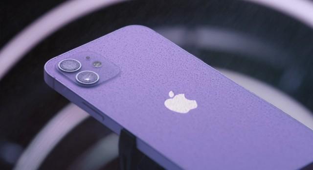 新配色!iPhone 12发布最新配色:亮光紫