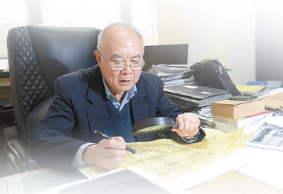 """79岁黄锡�G参与火神山医院设计:""""每张图纸,都印在心里"""""""