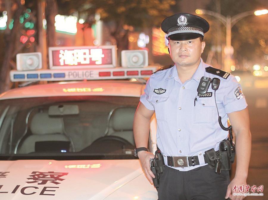 """陈海阳:不惧危险,总是冲锋在前的""""铁血战警"""""""