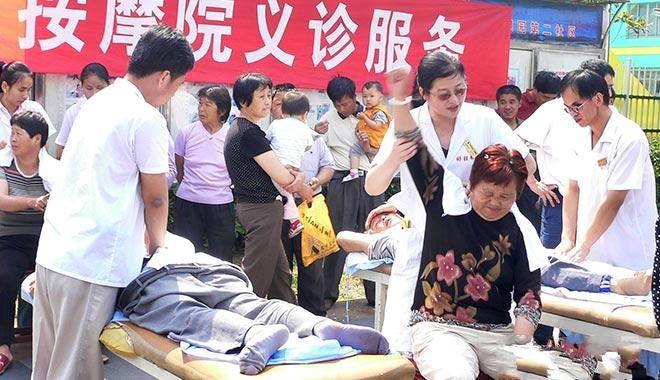 盲人推拿师严三媛:30年艰苦奋斗 带动千余名残疾人就业