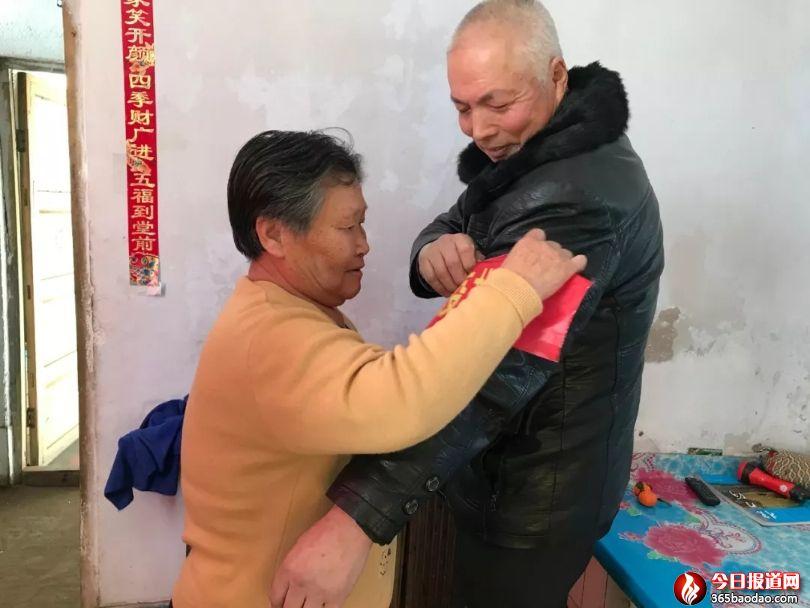 贾永发:72岁的老党员、老退伍军人坚守防控一线!