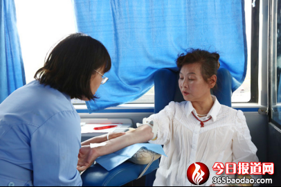 天津滨海最美夕阳红坚持十九年无偿献血