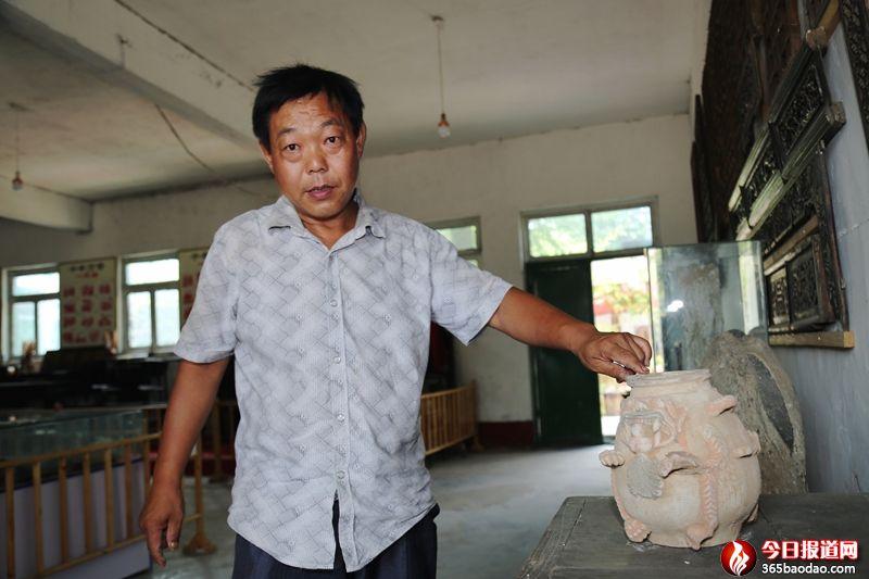 宁阳农民王彦红的民俗博物馆:记住历史 留住岁月