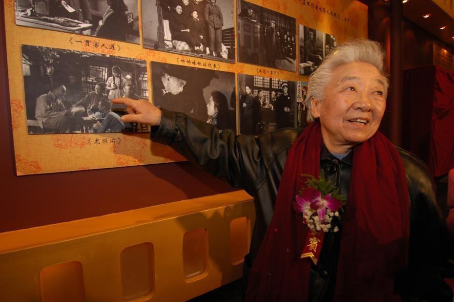 """永远的""""江姐""""于蓝逝世 享年99岁"""
