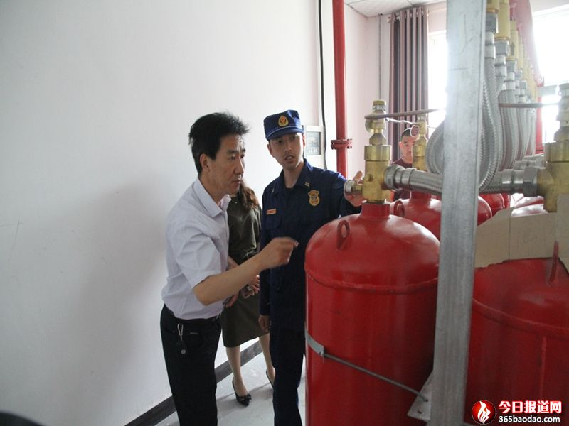 甘肃省靖远消防打击假冒伪劣消防产品严防先天性火灾隐患