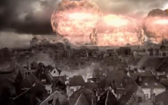 世界爆发全面核战,半个地球瞬间摧毁,人类是否还能存活?纪录片