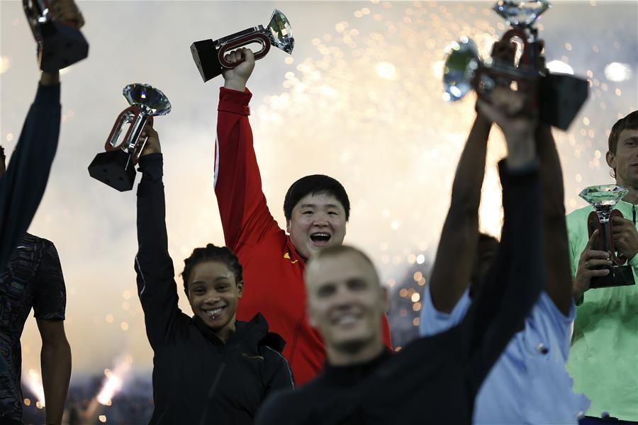 钻石联赛苏黎世站:巩立姣夺得女子铅球冠军