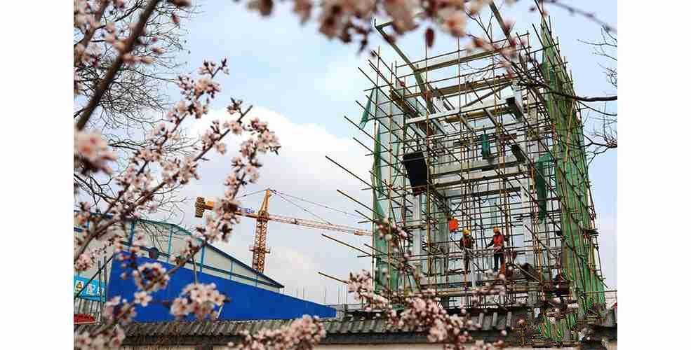 河北张家口:冬奥会非注册VIP接待中心工程顺利推进