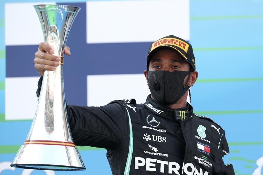F1西班牙大奖赛:汉密尔顿夺冠