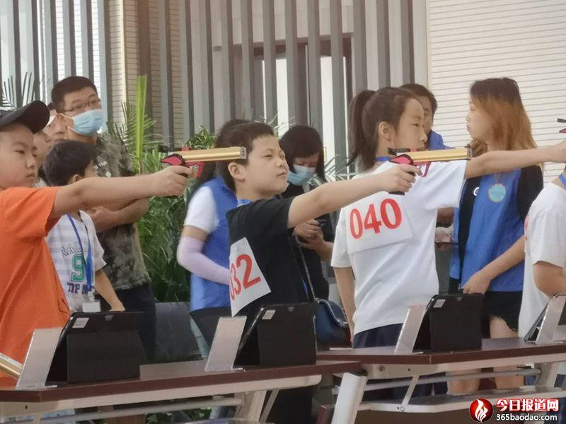 2020年济南市青少年射击锦标赛(热身赛)拉开唯幕