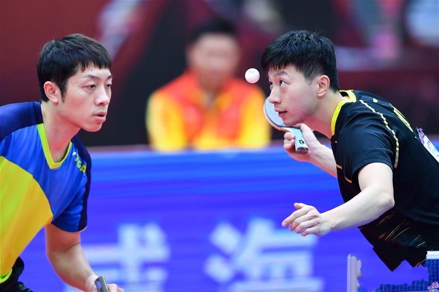 全国锦标赛:马龙/许昕获得男双冠军