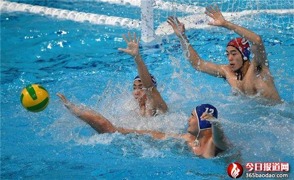 2020年全国男子水球冠军赛在西安开赛