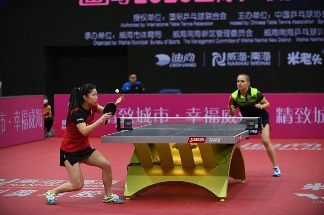 2020国际乒联女子世界杯在威海南海开幕