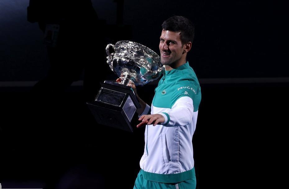德约科维奇九夺澳网冠军创纪录