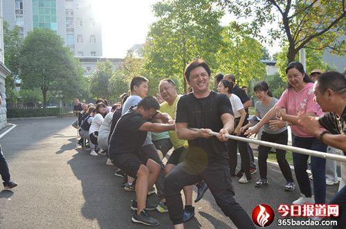 燃烧吧!卡路里! ――新晃县法检两院开展趣味运动会