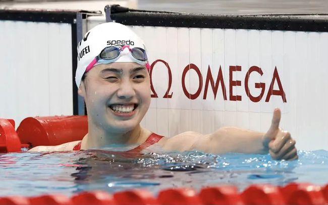 23秒97!刘湘破亚洲纪录,卫冕50米自由泳金牌,张雨霏无缘第5金