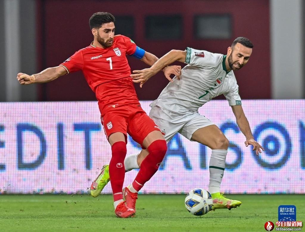 世预赛12强赛:伊朗队胜伊拉克队
