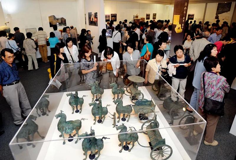 中国文物外交50年