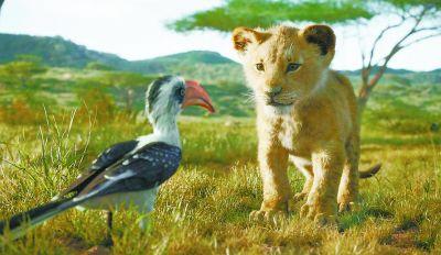 《狮子王》国内领先全球上映 动物太真实感觉面瘫?