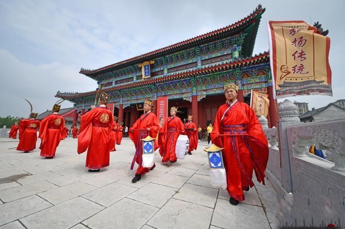 山东曲阜举办鲁班文化节 纪念工圣诞辰2527周年