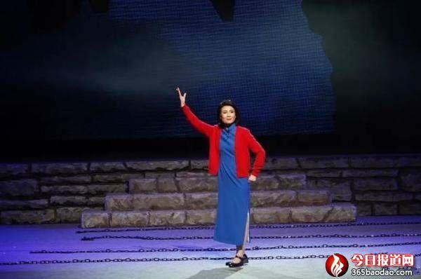 济南市吕剧院红色经典吕剧《江姐》演出圆满成功