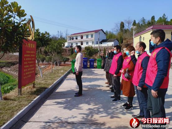 湖南省衡南县党小组开展疫情防控宣誓、承诺活动