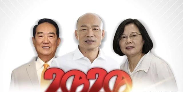 台2020选举 韩国瑜落败 蔡英文获连任