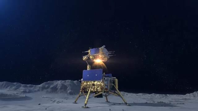 嫦娥五号上升器点火,实现中国首次地外天体起飞!