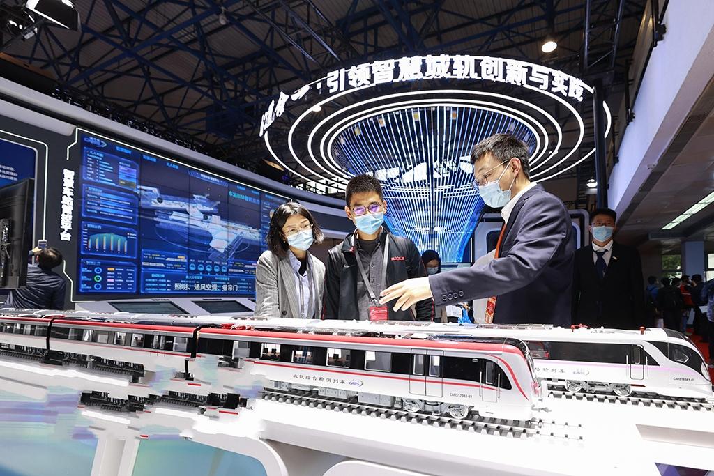 2021北京国际城市轨道交通展览会开幕