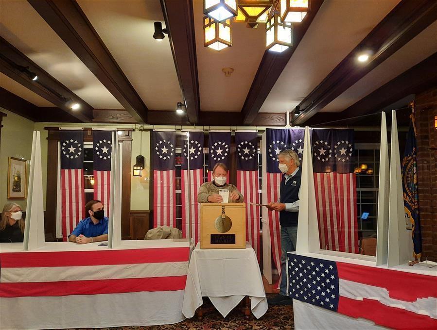 2020年美大选选举日投票正式开始 提前投票数创纪录